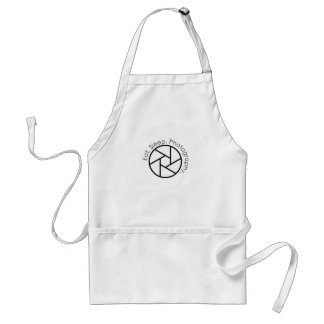 Eat. Sleep. Photography. Camera Standard Apron