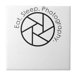 Eat. Sleep. Photography. Camera Tile