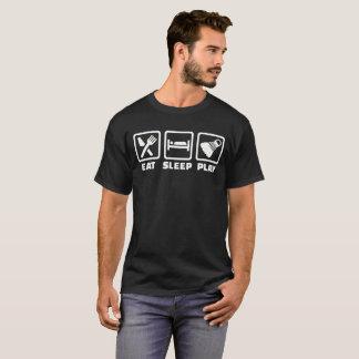 Eat sleep play Badminton T-Shirt