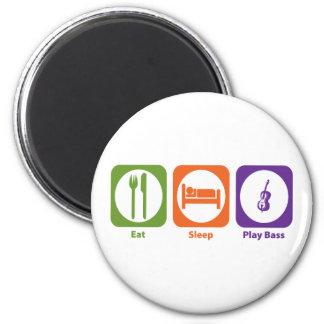 Eat Sleep Play Bass Magnet