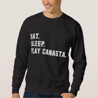 """Eat, Sleep, Play Canasta"" Shirt"