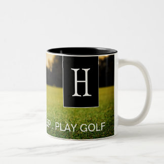 Eat, Sleep, Play Golf Coffee Mug