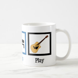 Eat Sleep Play Guitar Classic White Coffee Mug