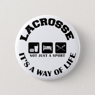 Eat Sleep Play Lacrosse 2 Inch Round Button