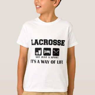 Eat Sleep Play Lacrosse T-Shirt