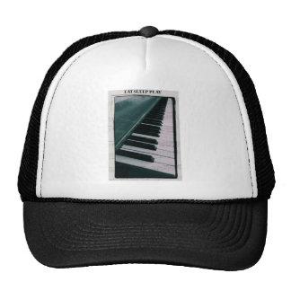 Eat Sleep Play (Piano) Trucker Hat