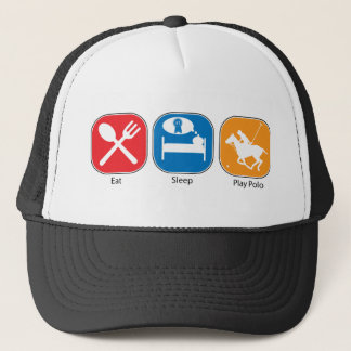 Eat Sleep Play Polo Trucker Hat