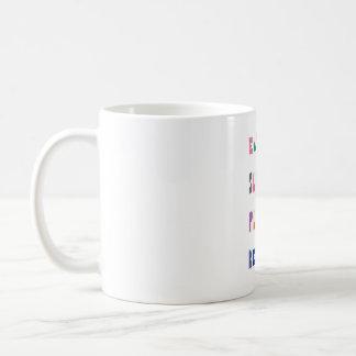 Eat, sleep, play, repeat, nursery mug