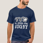 Eat sleep play rugby t-shirt | Men's apparel