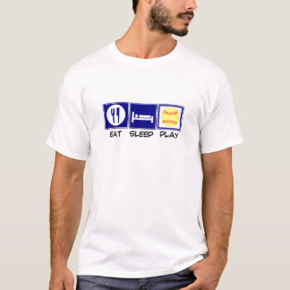 Eat, Sleep, Play Softball T-Shirt