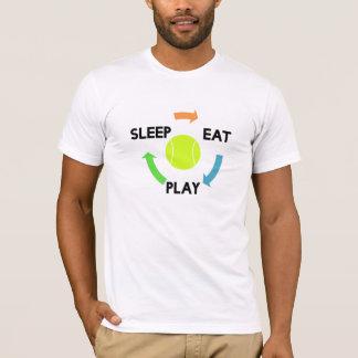 Eat Sleep Play Tennis Tee