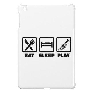 Eat Sleep Play Trumpet iPad Mini Covers