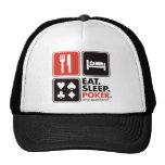 Eat Sleep Poker Hat