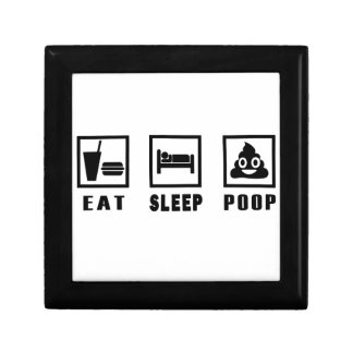 EAT SLEEP POOP GIFT BOX