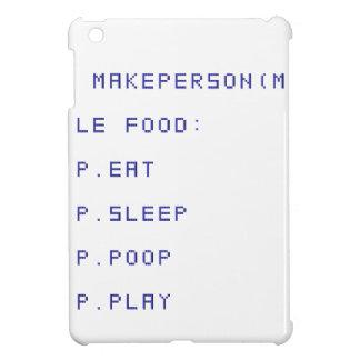 eat sleep poop play iPad mini case