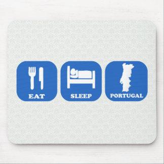Eat Sleep Portugal Mouse Pad