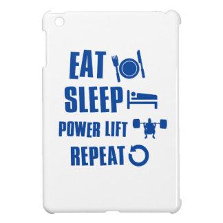Eat sleep Power Lift iPad Mini Cases