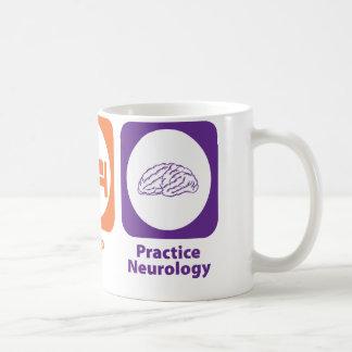 Eat Sleep Practice Neurology Coffee Mugs