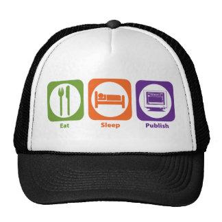 Eat Sleep Publish Trucker Hat