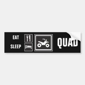 Eat Sleep QUAD! Bumper Sticker