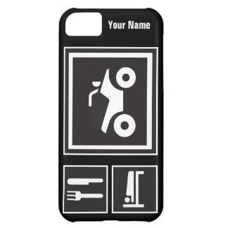 Eat Sleep QUAD! iPhone 5C Cases