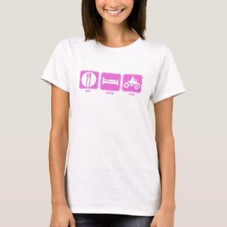 eat sleep quad pink T-Shirt