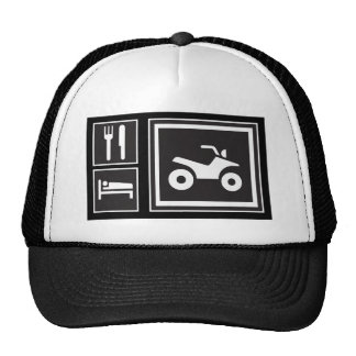 Eat Sleep QUAD! Trucker Hat