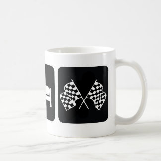 Eat Sleep Race Coffee Mug