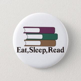 Eat,Sleep,Read 2 Inch Round Button