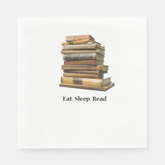 Eat Sleep Read Disposable Napkins