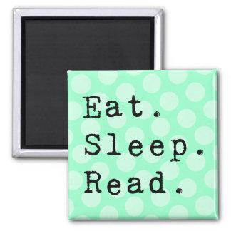 Eat. Sleep. Read. Magnet