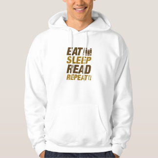 Eat Sleep Read Repeat Hoodie