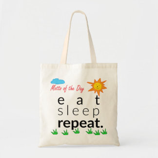 Eat Sleep Repeat Bag