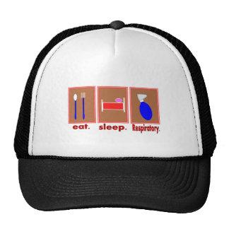 Eat Sleep Respiratory Mesh Hats