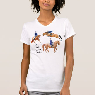 Eat Sleep Ride Equestrian T-Shirt