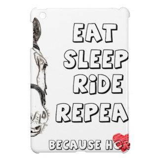 Eat Sleep Ride Repeat iPad Mini Case
