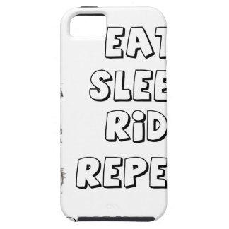 Eat Sleep Ride Repeat iPhone 5 Case