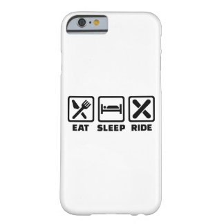 Eat Sleep ride Snowboard Barely There iPhone 6 Case