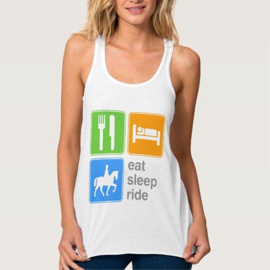 Eat Sleep Ride Tank Top