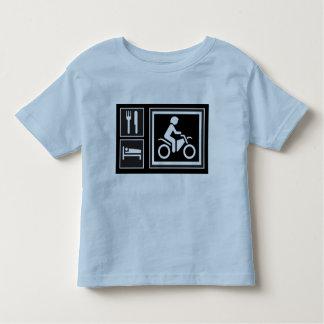 Eat. Sleep. RIDE! Toddler T-shirt