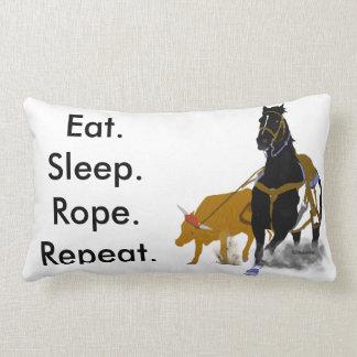 Eat. Sleep. Rope Lumbar Pillow