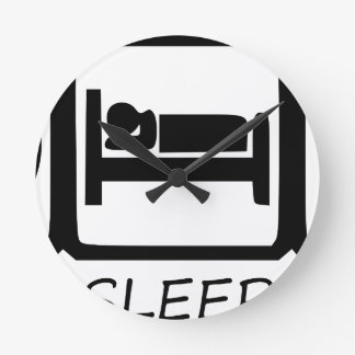 EAT SLEEP ROUND CLOCK