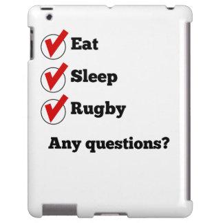 Eat Sleep Rugby Checklist