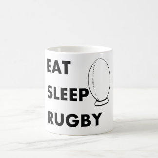 Eat Sleep Rugby Coffee Mug