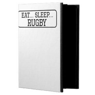 Eat Sleep Rugby iPad Air Covers