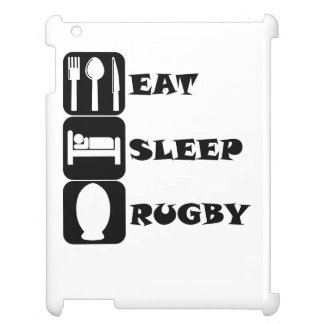 Eat Sleep Rugby Cover For The iPad 2 3 4