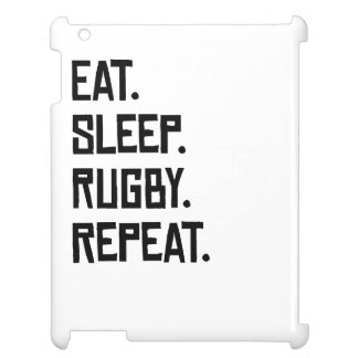 Eat Sleep Rugby Repeat Cover For The iPad 2 3 4