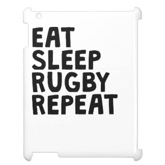Eat Sleep Rugby Repeat Case For The iPad 2 3 4