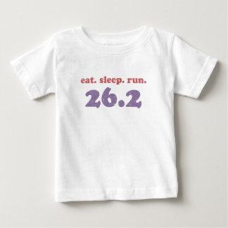 eat sleep run 26.2 baby T-Shirt