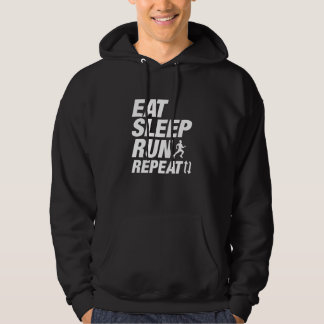 Eat Sleep Run Repeat Hoodie